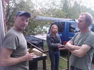 Didier (akordeon), Henry (songs, stimme, gitarre) und Roger (drums): die Ur-Brillos